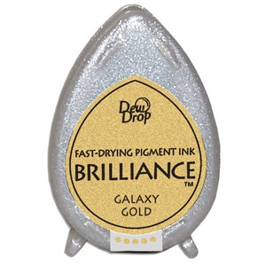 Brilliance ink - Pearlescent Galaxy Gold